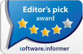 Software.Informer Editor's pick award